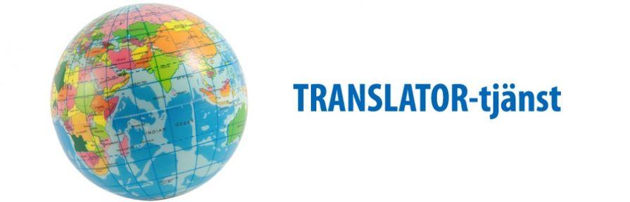 Translator-tjänst