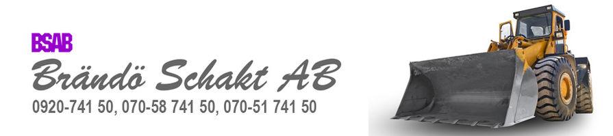Brändö Schakt AB logotype