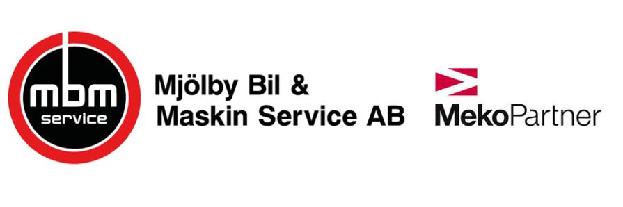 Mjölby bil logo