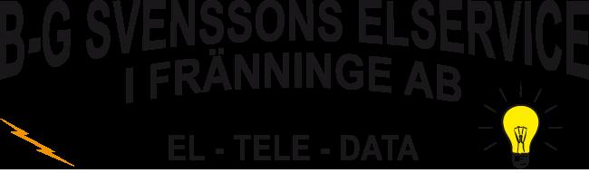 B-G Svenssons Elservice i Fränninge AB